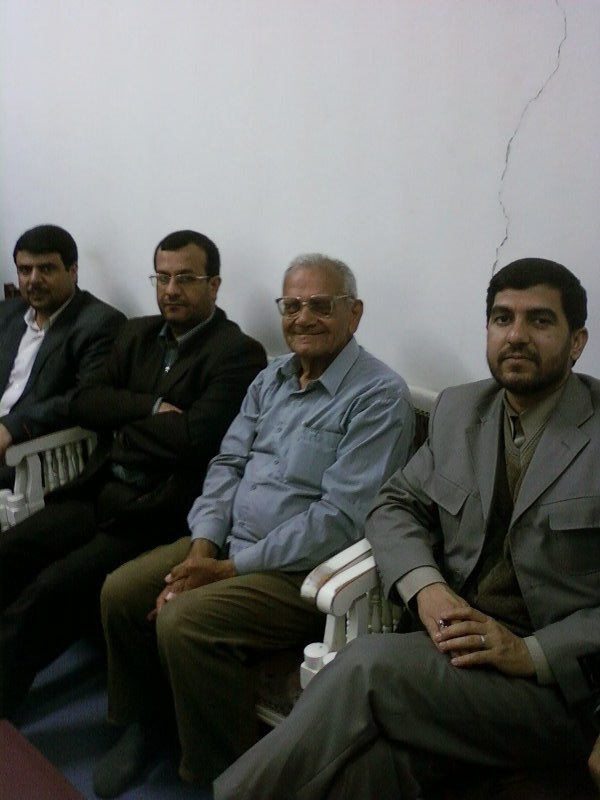دیدار  آقای جباری نماینده محترم با استاد و هنرمند گرامی آقای پذیرا