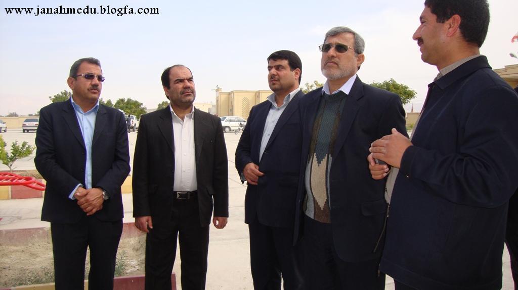 گزارش تصویری:حواشی مراسم افتتاح اداره آموزش و پرورش منطقه جناح