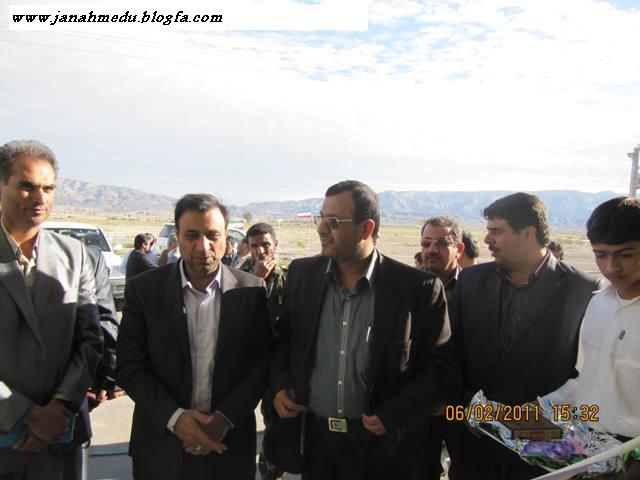 گزارش تصویری >> آغاز احداث ساختمان دانشگاه آزاد و افتتاح خوابگاه دبیرستان حافظ