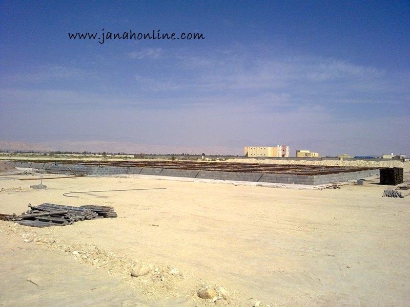 شروع به کار ساخت مسجد دانشگاه آزاد اسلامی جناح + عکس